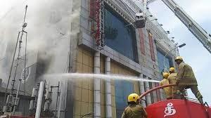 Chennai silks fire