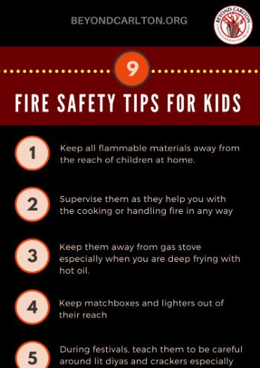 9 Fire Safety Tips for Kids