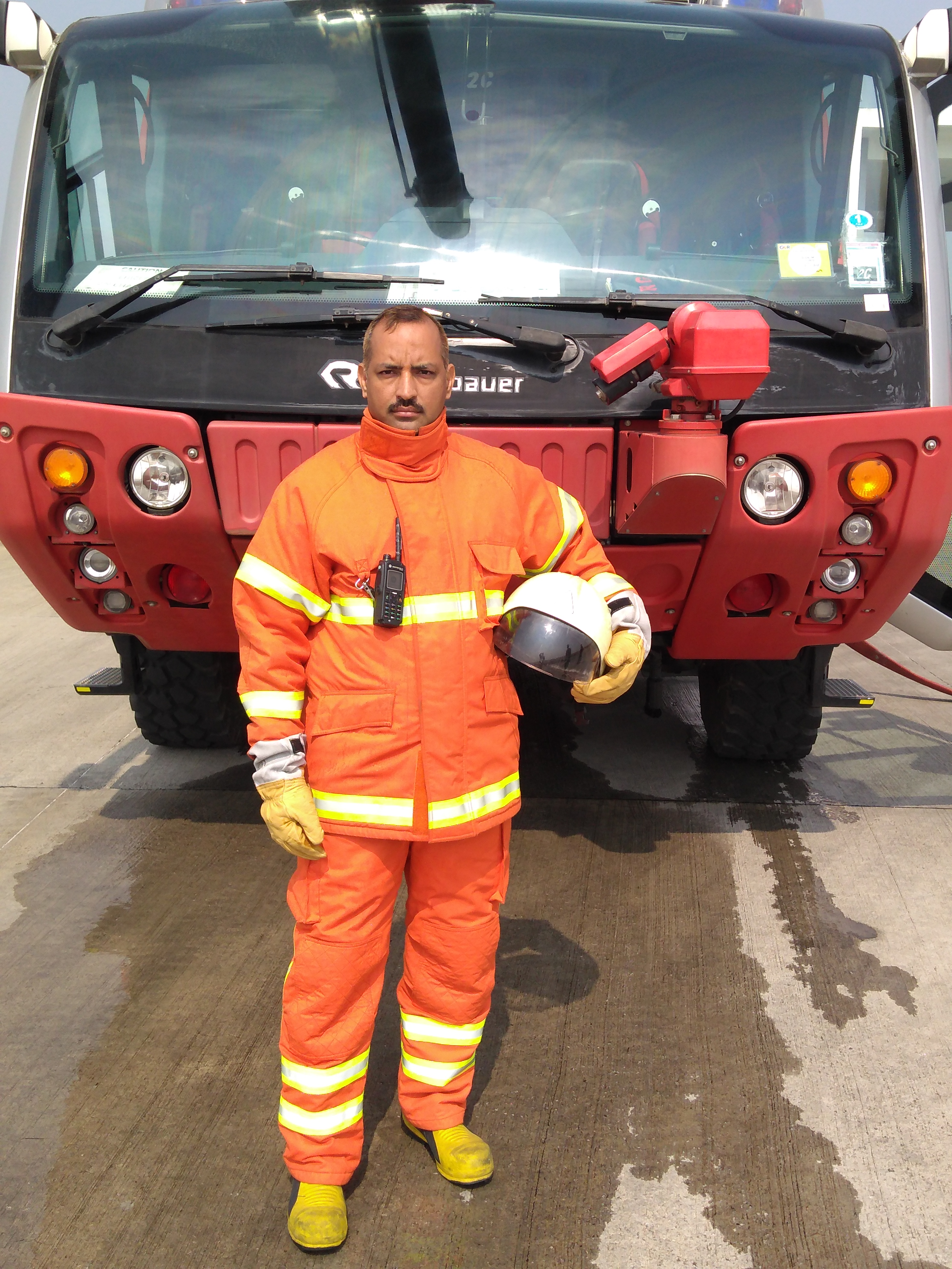 Fire Champion - Dharamvir Singh