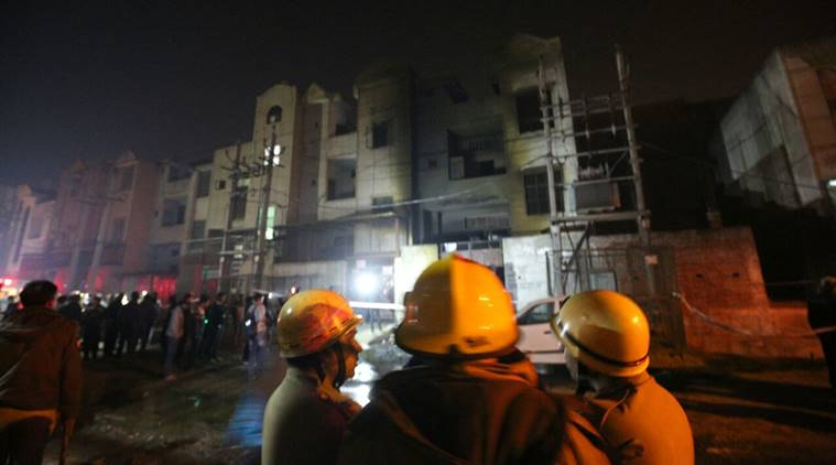 Bawana Fire Accident