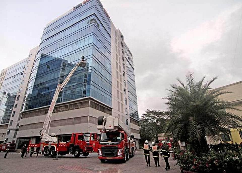 Goregaon Building Fire