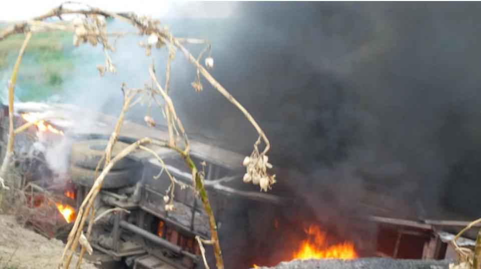 Motihari district fire accident