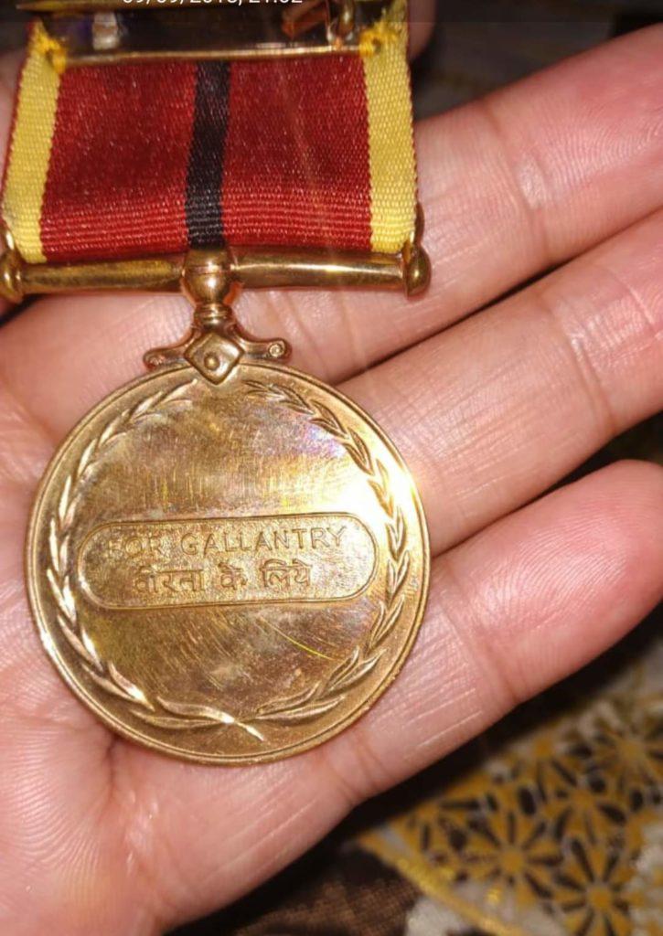Gallantry Award - Naveen Kumar