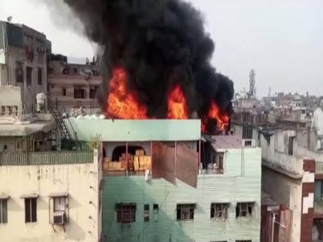 Anaj Mandi Fire Delhi